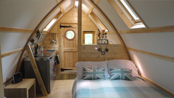 Wooden Wigwam Pod Sw Scotland Country Retreat